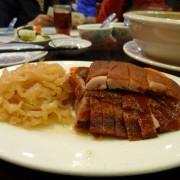 乳豬拼盤: 乳豬、燒鴨、海蜇、豬生腸