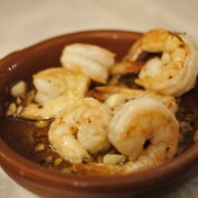 Traditional Garlic Shrimps