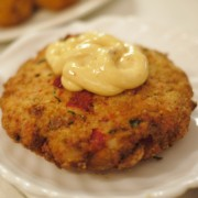 Crab Cake -  Don Carlos Style Spicy Sauce