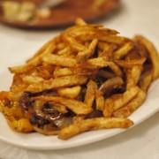 Grilled Beef Tenderloin, Pepper, Onions