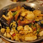 Small Paella, Seafood, Chicken, Chorizo