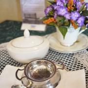 Sugar Bowl & Tea Strainer