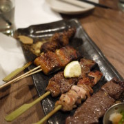 Premium Set: Wagyu Beef, Wagyu Beef Tsukune, Free Range Chicken Momo, Premium Beef Tongue, Unagi
