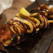 Ikayaki:  Grilled Squide w/ Teriyaki Sauce & Spicy Mayo