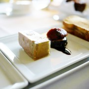 classic pressed terrine with caramelized fig and banyuls wine