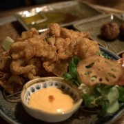 Torikawa Karaage (Deep Fried Chicken Skin)